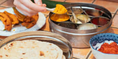 Dining Experience:  Finest Indian Food