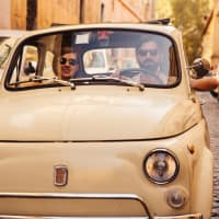 Rome Vintage Tour with a Classic Fiat 500