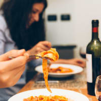 Home Dinner With Authentic Pasta!
