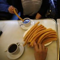 Churros&Chocolate in Spanish