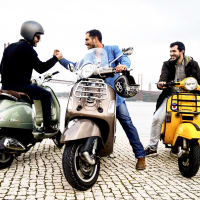 Aeroport pick up + Vespa tour