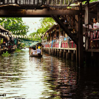Half Day BKK Weekend Floating Market & Boat Tour