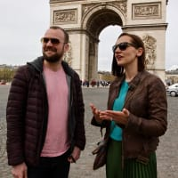 The Historical Axis of Paris with a Local