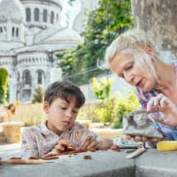 Inspiring Walk Through Montmartre & Your Very Own Masterpiece