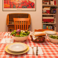 Mouth-watering Roman Dinner