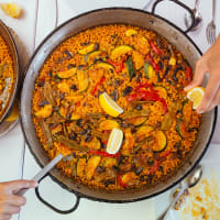 Barcelona's Little Chef Paella Cooking Class
