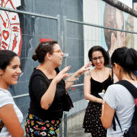 East Side Gallery tour with Berlin Wall academic expert