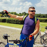 a special tour on the bike plus German Beer