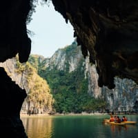 Drive and Cruise in Halong Bay!