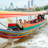 Bangkok's Highlights on a Long Tail Boat
