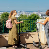 Paris on an Electric Scooter: Off the Beaten Track Tour