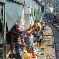 Bangkok's Unique Floating & Train Markets Private Tour