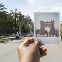 Barcelona Polaroid Walk