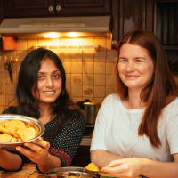 Vegetarian Dining:  Finest Indian Food