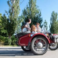 Motorbike with Sidecar: Main Attractions in Barca