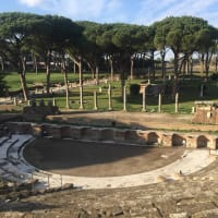 Amazing Ostia Antica and lunch at a Shipyard on the river!