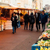 Market Food Tour: Dutch snacks & Stroopwafel