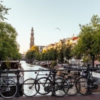 Amsterdam Canals by Bike with a Local