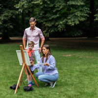 Paint like Michelangelo: Family Friendly Workshop