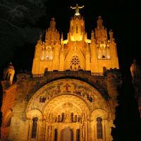 Night Hiking in Barcelona's Magic Mountain