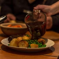 Vegan British Dinner made with Love