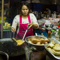 Trails of Street Food in China Town Bangkok