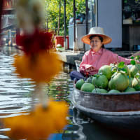 Bangkok's Unique Floating & Train Markets Private Tour