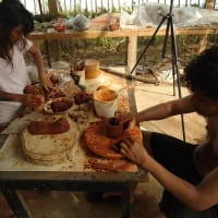 Learn Sculpture or Pottery using clay