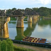 Kanchanaburi and River Kwai with a Local