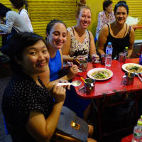 Trail of street food in China Town Bangkok