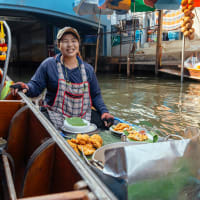 BKK Weekend Floating Market &  Long-tail boat Tour