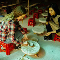 Family friendly tour to Bat Trang pottery village of 700 years old and Ecopark