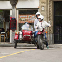 Fun Tour of Main Attractions by Motorbike with a Sidecar