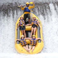 Amazing White Water Rafting in Bali