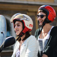 Exclusive Vespa Sight Seeing Tour