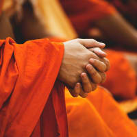 Share a Morning with Thai Monks