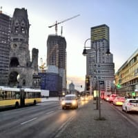 The Scenic District of West Berlin Charlottenburg