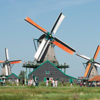 Photowalk and Windmills at Zaanse Schans