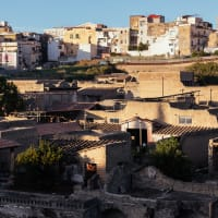 The ancient city of Herculaneum