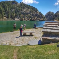 Mountain Train & Pyrenees Hiking Day Trip