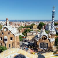 Private Bike Journey Through the City of Gaudi