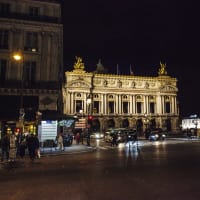 Paris,  the city of light by night