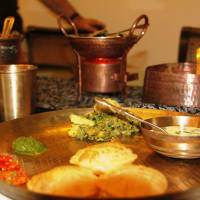 Authentic Gujrati Thali