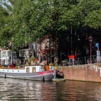 Amsterdam From the Water on a Historic Boat