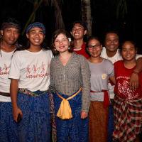 Nasi Lumpur/Mud Rice Balinese Organic Food