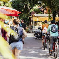 Explore the Old City of Chiang Mai By Bike