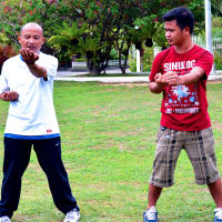 Learn basic Wing Chun self-defense techniques