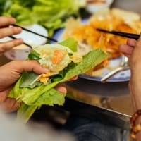 Traditional Vietnamese Hot Pot Dinner
