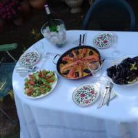 Seasonal and organic Valencian home dinner