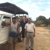 Two different experiences in one go….!  Climbing Pidurangala Rock & Wild life Safari at Kaudulla National Park.
